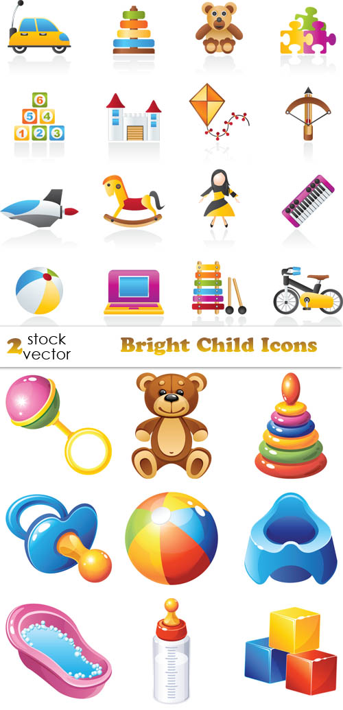 Vectors - Bright Child Icons