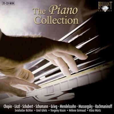 VA,100 Best romantic classics,The Piano Collection (25 CD) (2007) MP3