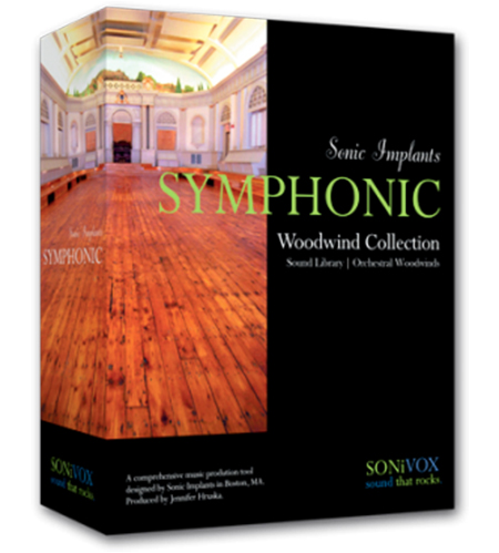 SONiVOX Sonic Implants Symphonic Woodwinds Collection ORiGiNAL GIGA DVD9-KRock