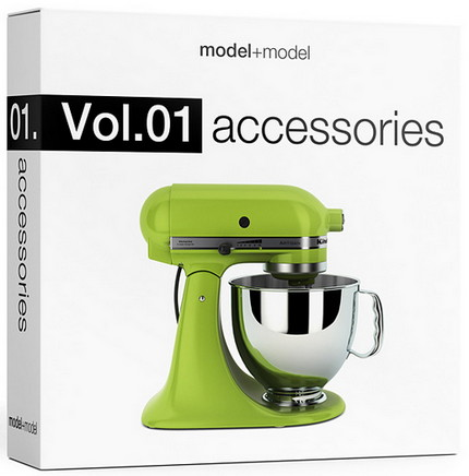 modelplusmodel Vol.01 Accessories FULL