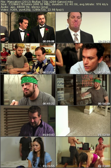 Mancation (2012) BluRay 720p x264-Ganool