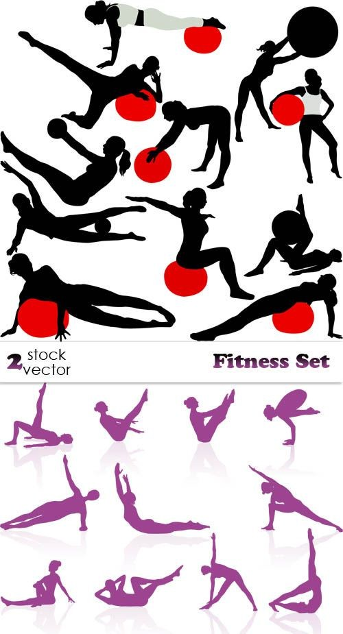 Vectors - Fitness Set