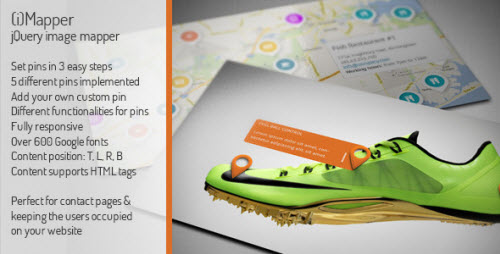 CodeCanyon - iMapper - jQuery/HTML5/CSS3 Image Mapper