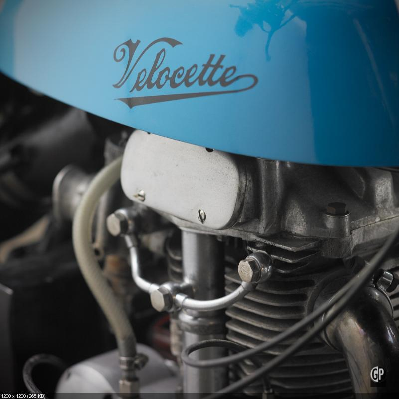 Скрамблер Velocette MSS 500
