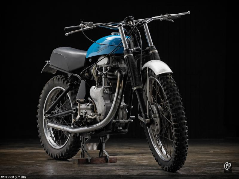 Скрамблер Velocette MSS 500