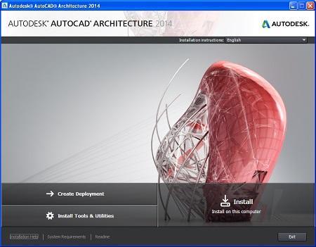 Autodesk AutoCAD Architecture ( 2014, x86/x64, English )