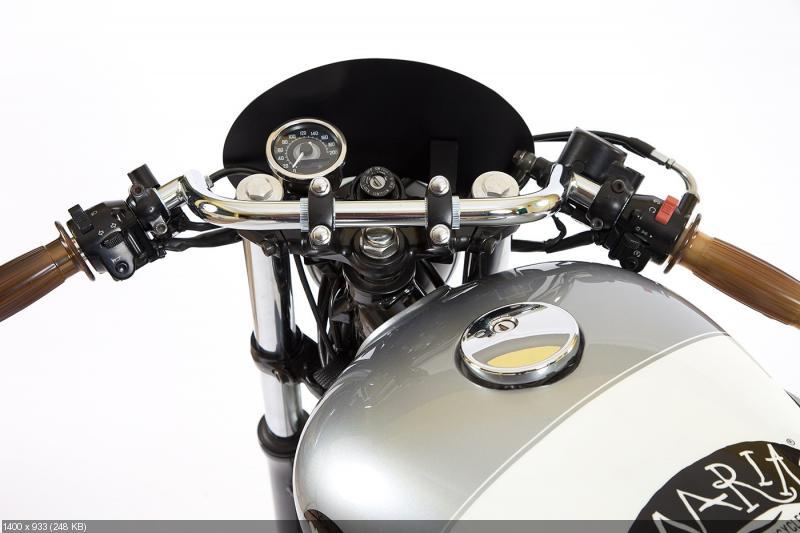 Классический кастом Kawasaki W650 Hurricane Jane