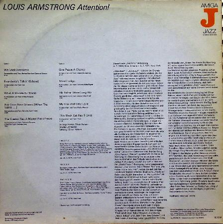 LOUIS ARMSTRONG Attention! (1970)