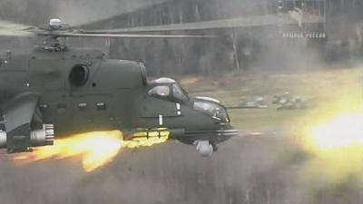 Ми-24. Армейский ударный вертолёт (2 серии из 2) (2012) DVDRip-AVC