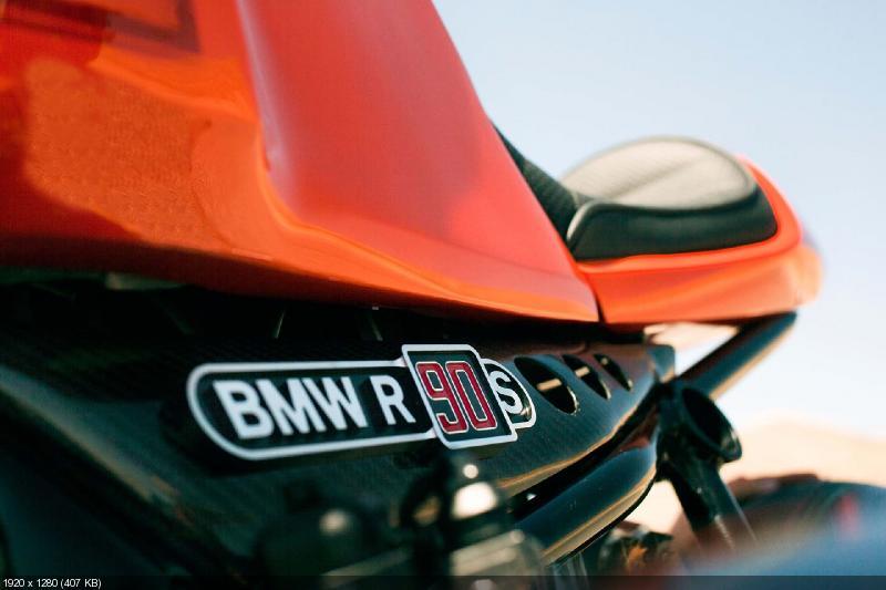 Концепт BMW R90S Ninety