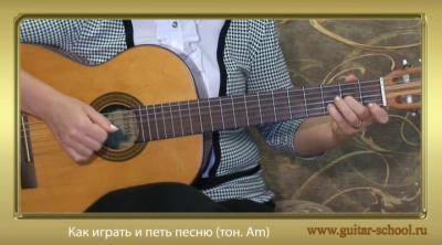 Алёна Кравченко - Видеошкола игры на гитаре [2008-2011, Видеоурок, DVDRip]