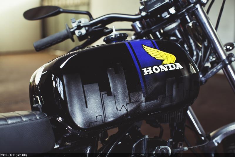 Флэт-трекер Metropolitan - Honda FT500 1982