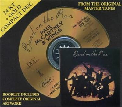 Paul McCartney & Wings - Band On The Run (1973) (Reissue 1993, Remastered, Limited Edition, 24 kt Gold CD)