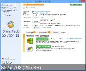 DriverPack Solution 13.0.370 + �������-���� 13.06.5 DVD Edition