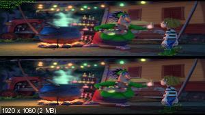 Тарзан-размазня в 3Д / Gummi T / Ivan The Incredible 3D  Вертикальная анаморфная