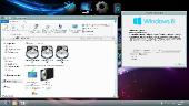 Windows 8 Pro Black System by Vannza & YelloSOFT (x86/x64/2013/RUS)