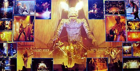 IRON MAIDEN - Live After Death (1985), vinyl-rip