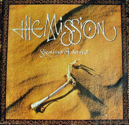 The Mission - Grains of Sand (1990), vinyl-rip