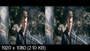 В изгнании  3Д / Outcast 3D  Горизонтальная анаморфная