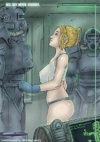 Fallout porn comics