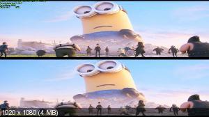 Миньоны / Minions (2015) BDRip 1080p | 3D-Video | Лицензия