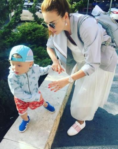 Наталья Подольская показала совместное фото Владимира Преснякова с сыном