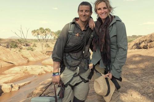 Джулия Робертс оставила семью и улетела в Африку с женатым коллегой