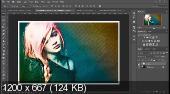Преобразование фото в стилизованный эскиз через экшен (2017)
