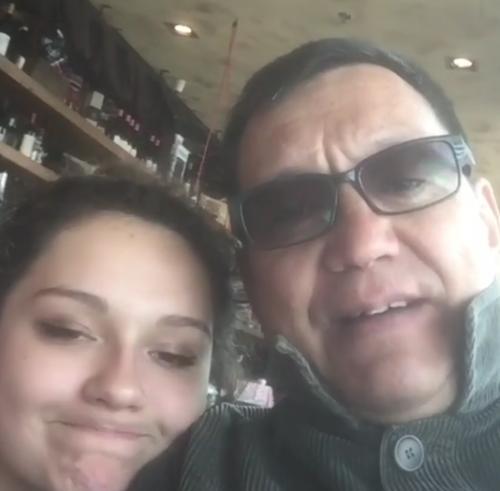Егор Кончаловский путешествует с дочерью от Любови Толкалиной