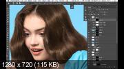 Ретушь волос. Техника и приемы (2017) HDRip