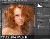 Студийная ретушь женского портрета (2017) HDRip