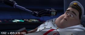 ВАЛЛ·И / WALL·E (2008) BDRip-AVC от HELLYWOOD   Лицензия   2.18 GB